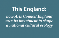 Cover of Arts council England's 'This England' report