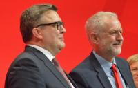 Photo of Tom Watson and Jeremy Corbyn