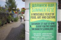 Image of Warwick Bar fete poster