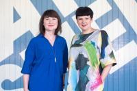 Miriam Randall (L) and Clare Reddington (R)