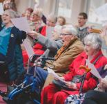 Photo of a dementia Friendly Performance