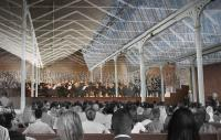 Mock up of concert hall