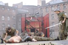 Image of prison theatre production