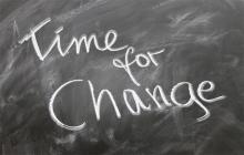 Blackboard: Time for Change