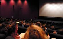 Photo of people in a cinema screen