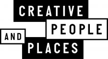 Creative People and Places logo