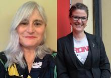 photos of Adele Poppleton and Kath Wynne-Hague