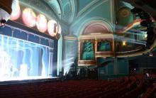 Photo of empty theatre auditorium