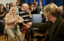 Photo of a workshop in a care home