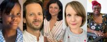 image of PiPA's five number board members