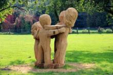 Photo of dancing sculpture