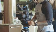 Photo of videocamera