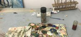 Photo of paint palette