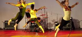 Photo of young people dancing