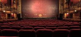 A photo of an empty theatre auditorium