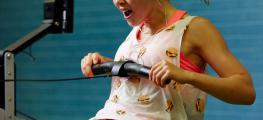 Photo of girl rowing