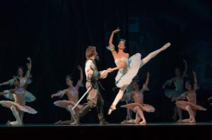A photo of a ballet performance