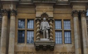 Cecil Rhodes statue oxford university