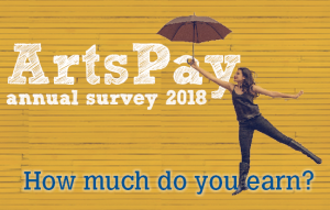 ArtsPay annual survey 2018 - How much do you earn?
