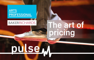 An ArtsProfessional pulse survey - The art of pricing