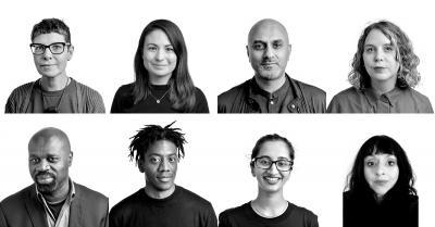 Photo of 8 new a-n board members