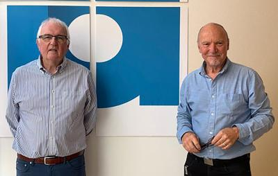 David Lindsay (left) and Brian Marriott (right)