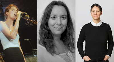 L - R Ellie Rowsell, Sarah Thirtle, Bengi Unsal