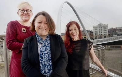 Photo of Carol Bell, Maria Bota and Sarah Munro