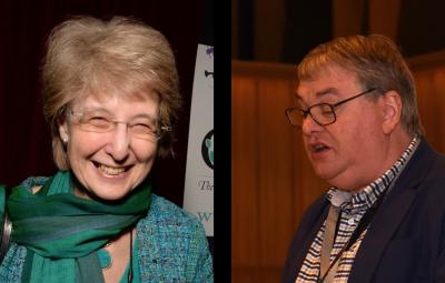 Ruth Lester and Professor Martin Fautley