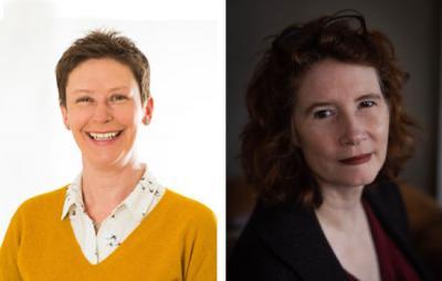 Photo of Michelle Carwardine-Palmer (left) and Hedda Archbold (right).
