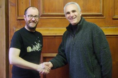 Rob Williams and Glenn Tinsley