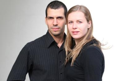 Photo of Stine and Pedro