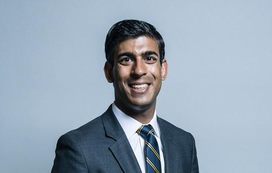 Rt Hon Rishi Sunak MP, Chancellor of the Exchequer