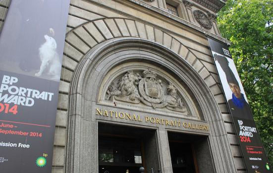 A photo of National Portrait Gallery