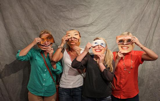 Photo of diversity masks