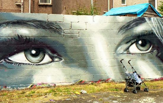 Photo of graffiti in Swansea