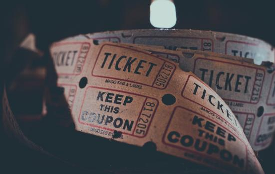 A reel of tickets