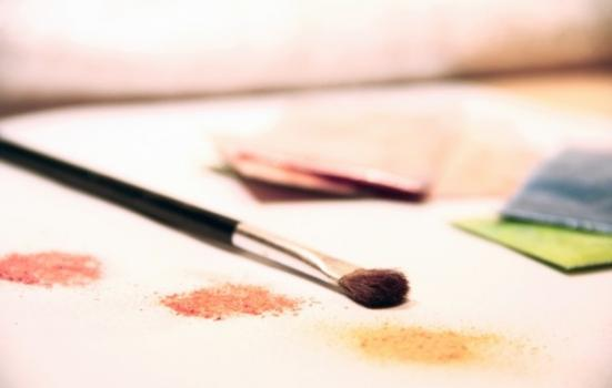 Photo of painting brushes