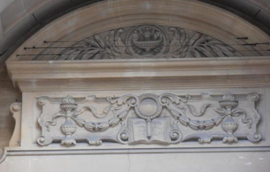 Art Nouveau at Cardiff Library