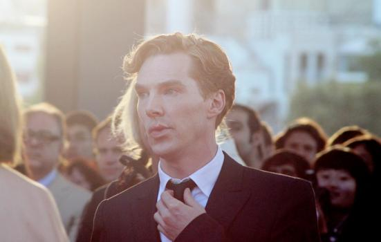 Benedict Cumberbatch at a black tie event