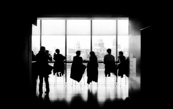 Photo of a meeting