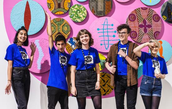Attenborough Arts Centre's resident youth group, Next Gen