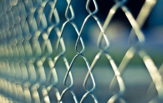 Photo of chainlink fence