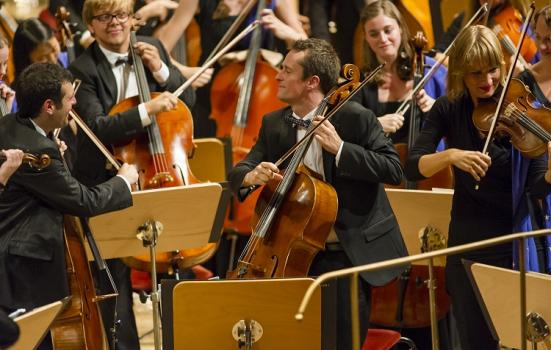 Photo of the European Union Youth Orchestra