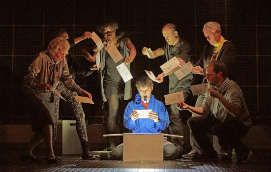 Photo from the Curious Incident of the Dog in the Night-Time
