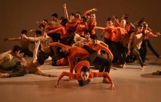 Photo of young dancers