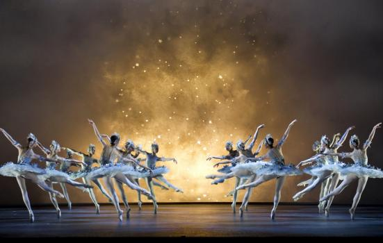 Photo of ballet dancers performing