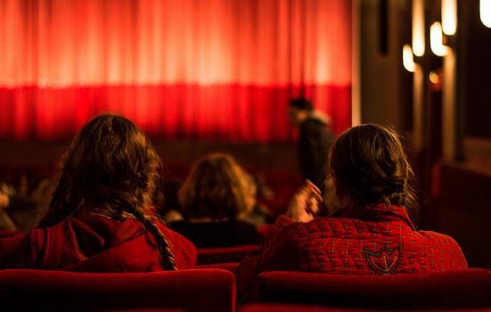 Photo of a theatre auditorium