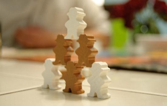 Photo of stick figures
