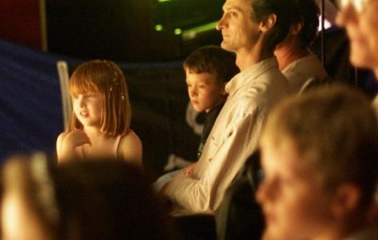 Image of family audience